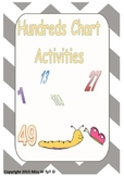 Hundreds Chart Activities - Insect Theme