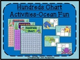 Hundreds Chart Activities-Ocean Themed