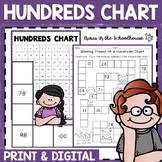Hundreds Chart Activities   Place Value   Easel Activity Distance Learning