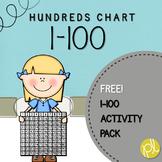 Hundreds Chart FREE Printables