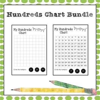 Hundreds Chart Bundle