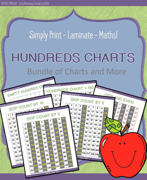 Hundreds Chart - Bundle and More