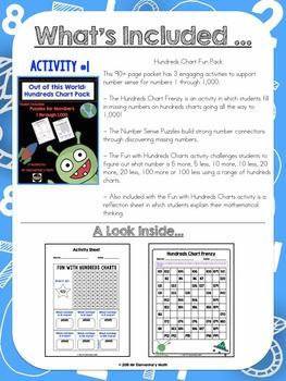 Hundreds Chart Bundle: 4 Activity Set
