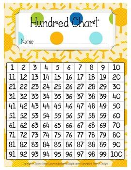 Hundreds Chart