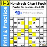 Hundreds Chart Fun Pack | Number Sense