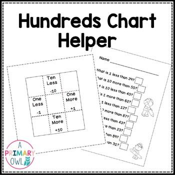 Hundreds Chart Helper {freebie}