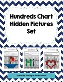 Hundreds Chart Hidden Pictures Math Place Value Practice