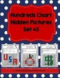 Hundreds Chart Hidden Pictures Set Math Base Ten Practice