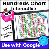Hundreds Chart Interactive Math Digital Resource Google Slides