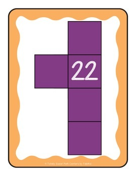Hundreds Chart Mystery Number Math Routine