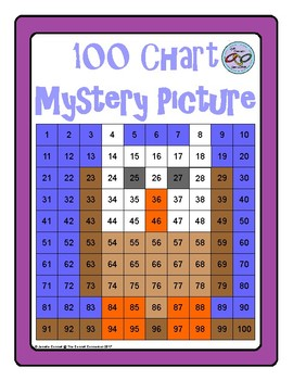 Hundreds Chart Mystery Picture Owl