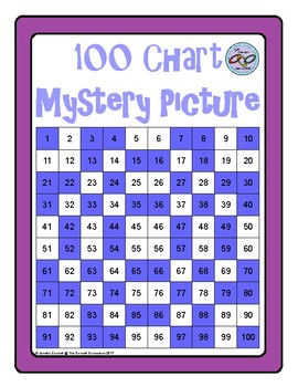 Hundreds Chart Mystery Picture Snowflake