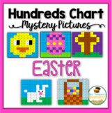 Easter Math Fun - Hundreds Chart Mystery Pictures