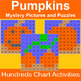 Hundreds Chart Mystery Pictures Fall Themed Bundle