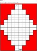 Hundreds Chart - Nonstandard Worksheet
