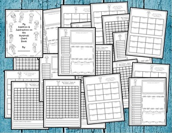 Hundreds Chart Activity BUNDLE: Hundreds Chart Multiplication, Addition & MORE!!