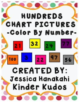 100 Chart Pictures/ Hundred Chart Designs/ 100th Day of Sc