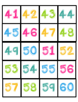 Hundreds Chart Pocket Chart Pack With Number Sense Activities!