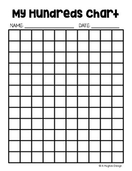 photograph about Printable Blank Hundreds Chart called Absolutely free Countless numbers Chart Printables: 100 and 120 A Hughes Style and design
