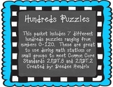 Hundreds Chart Puzzles