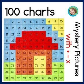 Hundreds Chart Puzzles 6 - 11
