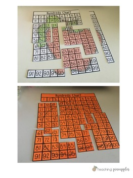 Hundreds Chart Puzzles - Back to School Edition!
