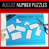 Hundreds Chart Puzzles, Differentiated: August