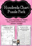 Hundreds Chart Puzzles (Number fluency and familiarisation)