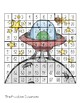 Hundreds Chart Puzzles Space- Number Sense Activities on 100s Chart!