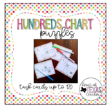 Hundreds Chart Puzzles-Task Cards to 120