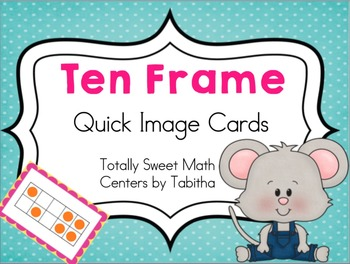 Ten Frame Quick Images Cards