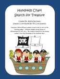 Hundreds Chart Search for Treasure - Differentiated