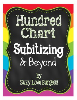 Hundreds Chart Subitizing and Beyond