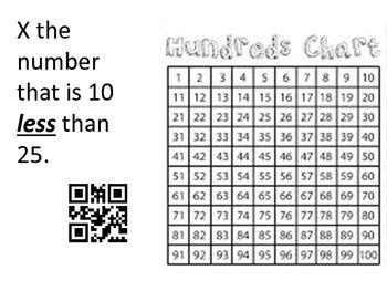Hundreds Chart Task Cards