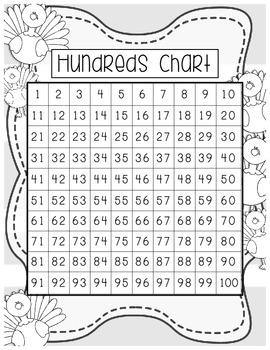 Hundreds Chart Variety Pack