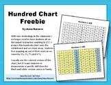 Hundreds Chart for Doc. Cam
