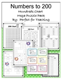 Hundreds Chart Place Value Puzzles and More Mega Pack