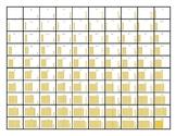 Hundreds Chart with Base Ten Blocks