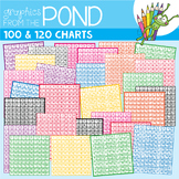 Hundreds Charts + 120 Charts - Clipart for Commercial Use