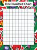 Christmas Hundreds Charts - Christmas Holidays Theme