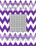 Hundreds Charts Mysteries---Pack #2!