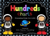 Hundreds Chart Worksheets and Charts