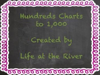 Hundreds Charts to 1,000