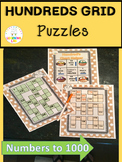 Hundreds Grid Number Puzzles
