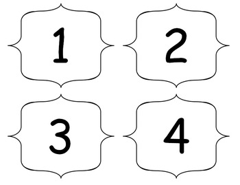 Hundreds Number Chart Floor Puzzle