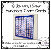 Hundreds Pocket Chart Cards - Halloween Theme