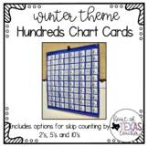 Hundreds Pocket Chart Cards - Winter Theme