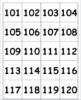 Hundreds Pocket Chart Number Cards 1 - 1,200 {for games an