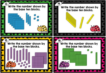 I can model numbers to 1000 - Hundreds, Tens & Ones Place Value