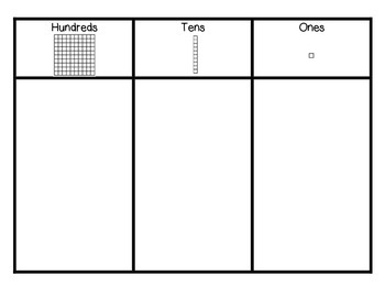 Hundreds Tens Ones Chart By Allison Crowson Teachers Pay